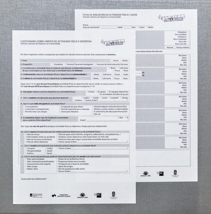 Activate - formulario