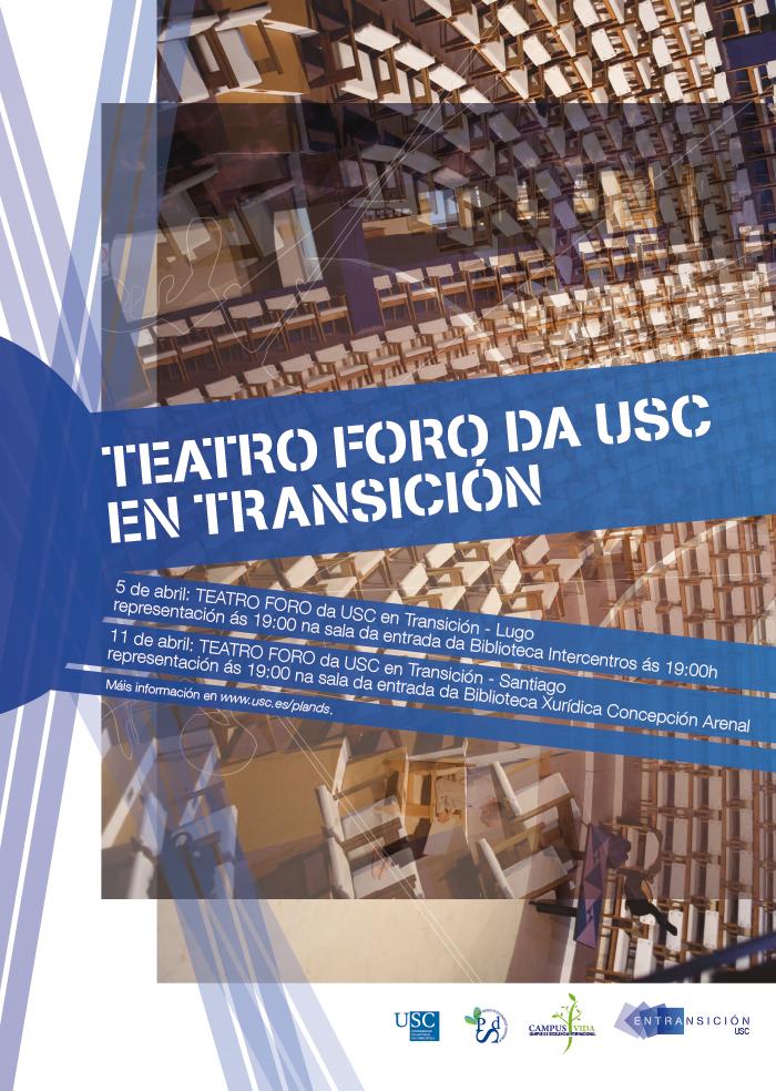 Cartaz actividade USC en transición