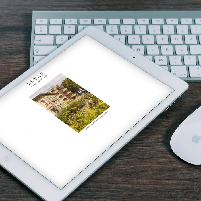 Web Estar Estudio en tablet