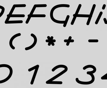 Detalle tipografía Sweet Paprika