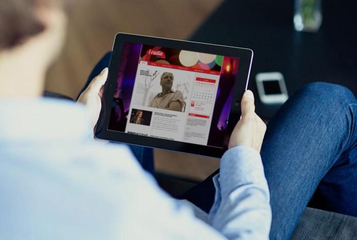 Web I-Radia Crea tablet