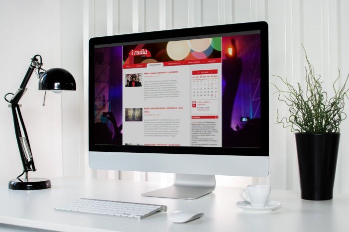 Web I-Radia Crea desktop