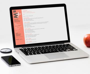 Web Escenas do Cambio en laptop