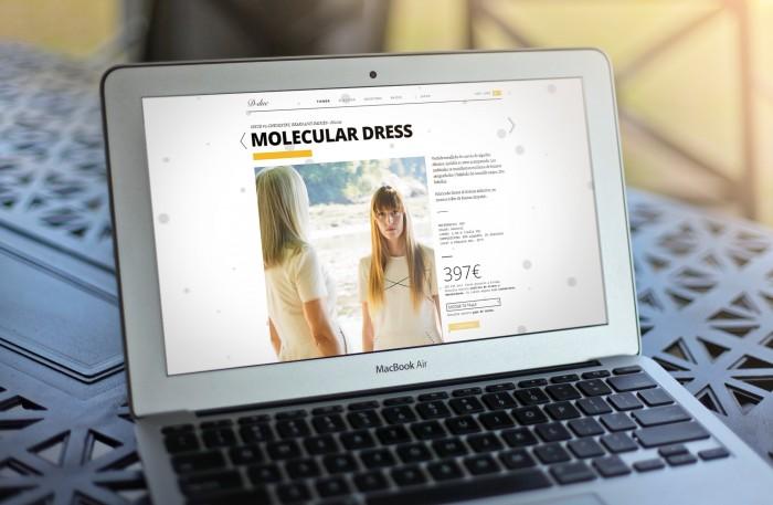 Web D-Due en laptop