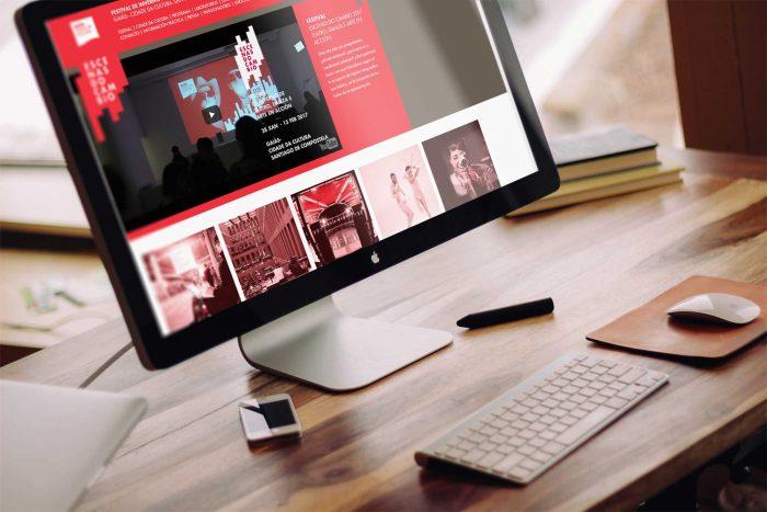 Web Escenas do Cambio en desktop