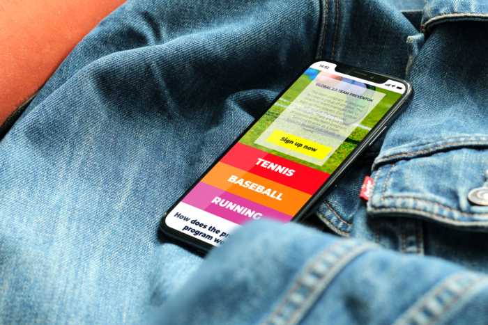 Web PreventOK en smartphone
