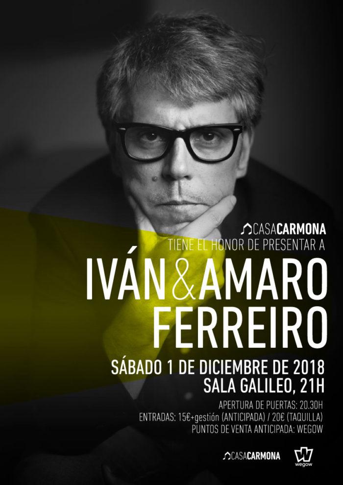 Deseño de cartaz Casa Carmona