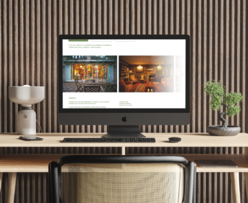 Web O Casal das Árbores en desktop